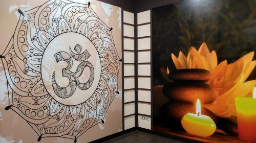 Sala actividades yoga, reiki, mindfulness Ho'Omana